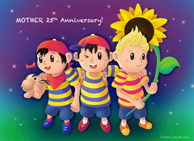 MOTHER 25th by Kanis-Major