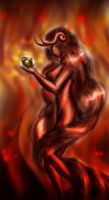 Shu the Ifrit by Valyssa