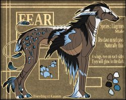 Fear - Reference Sheet by Kasamm