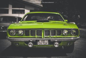 1971 Plymouth Cuda by AmericanMuscle