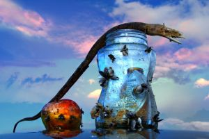 Fruit Snake Knowledge by ahermin