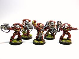 Sternguard squad by ByTheDock