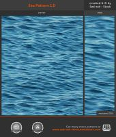 Sea Pattern 1.0 by Sed-rah-Stock
