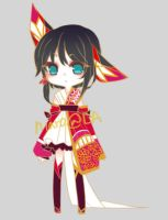 Morigami: Giveaway [CLOSED | BLACKCAT-GLASSES] by niaro
