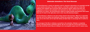 Admirable Animations The Good Dinosaur. by Jules2005