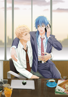 NOIZ and AOBA in Office 1 by chienu