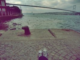 Bosphorus Is Under My Feet by Eldaloteowyn