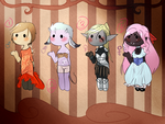 Chibidoptables- Set 1 by Create-ItAdopts