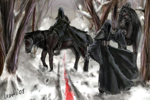 Huntning Nazguls by winds-of-chaos