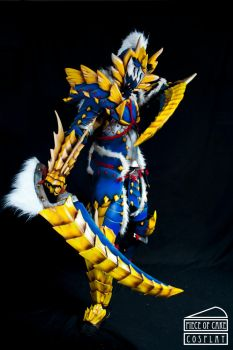 Zinogre Armor Monster Hunter 05 by Dewbunch