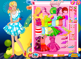 Candy Girl Dress up Game by willbeyou