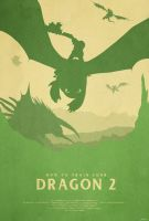 Brotherhood - How to Train Your Dragon 2 Poster by edwardjmoran