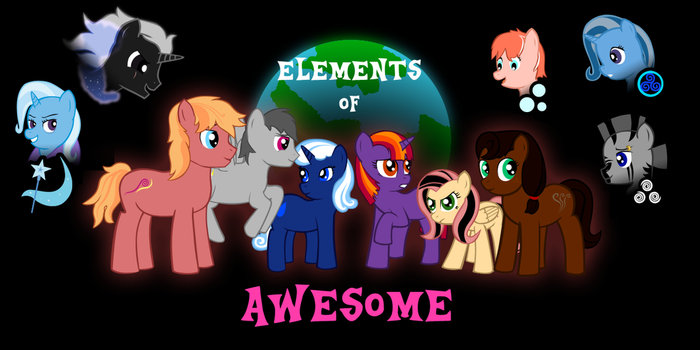 Elements of Awesome - With Text by feline-gal