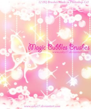 Magic Bubbles Brushes by Coby17