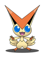 Victini by lWideShotl