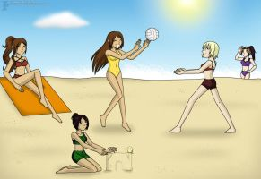 Beach Bash :gift-contest: by Isa-Love-Anime