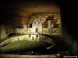 castle at the Catacombes by Rivenna