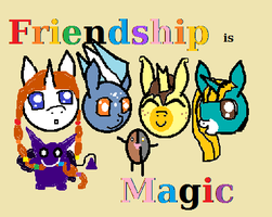 Don't you Know you're All My Vry Best Friends by SunnyFaceMLP