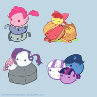 My Little Chubbies:Family Pack by pekou