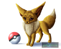 Eevee by BlackLightning95