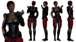Outfit: Red Rogue by Just-Jasper