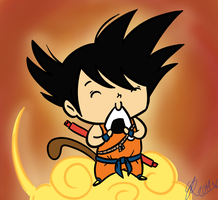 Goku by Budgies