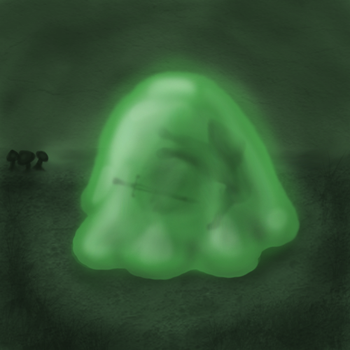 Slime Concept Art by A-Not-E