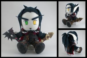 WoW - Blood Elf Rogue plushie by eitanya