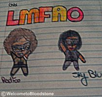 LMFAO Fan Art by WelcometoBloodstone