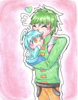 Father Son Arthur and Nonsurat ((younger)) by SweetPops05