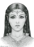 Lady from Rivendell by Mella-M91