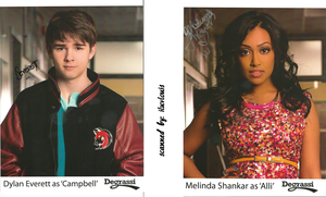 Autographed Pictures of Dylan and Melinda by iluvlouis