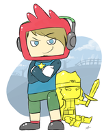 PewDiePie: ScribbleNauts by UnknownSpy