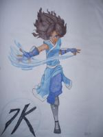 Katara water bender by lostatsea101