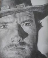 Clint Eastwood by Turquoise-Tangerine