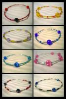 Simple Bracelets II by Loucife