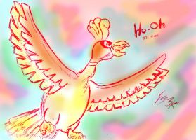 Heart Gold Ho-Oh by F-Stormer-3000