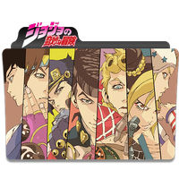 JoJo's Bizzare adventure folder Icon by Viole1369