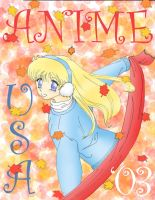 First Anime USA Flyer by AzreGreis