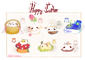 [CLOSED] ADOPT SET PRICE 285 - EASTER EGG by Piffi-sisters