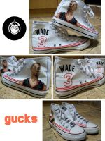 Dwyane Wade by gucksshoes