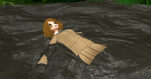 Rule #9 of Swamp Travel - Lay On Your Back by RazorVolare