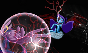 Twilight vs Trixie by CiscoQL