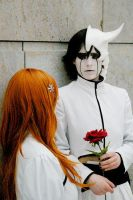 'our'. ulquiorra-cosplay by desearu