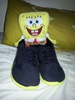 SpongeBob likes my Mizunos by dev-catscratch