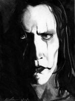 The Crow - Brandon Lee by egrka