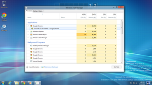 New Windows task manager Win 8 by JaisonYR
