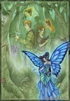 Fairy Forest by MisticUnicorn