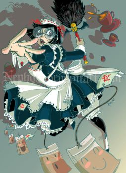 +GHOTICAL:Tea the Mad Maid+ by Nephyla