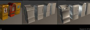 CE2 Newspaper boxes by Schaefft